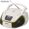 Radio cd portatil Bluetooth - usb