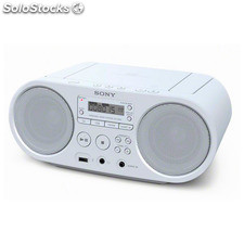 Radio CD Sony zs-PS50 Blanco
