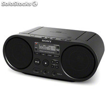 Radio CD Sony zs-PS50 Negro
