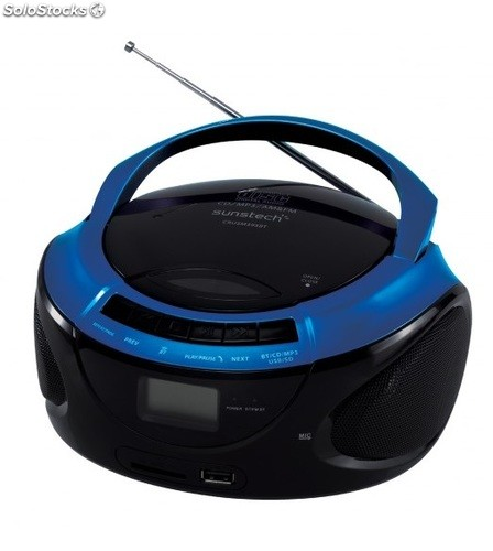 Radio CD sunstech CRUSM395BTBL