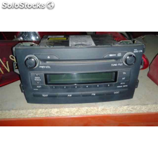 Radio cd - toyota auris 1.4 turbodiesel cat - 0.06 - ...