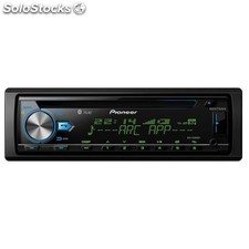 Radio cd usb bluetooth pioneer multi color