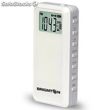 Radio de bolsillo digital Brigmton BT-123 Blanco