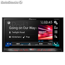 "Radio monitor doble DIN Pioneer AVHX8800 BT , car play , android auto , 7"" ,"