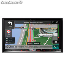 Radio monitor doble DIN Pioneer AVICF88 DAB , car play , android auto , hdmi ,