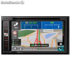 "Radio monitor doble DIN Pioneer AVICF980 BT , car play , android auto , 6.2"" ,"