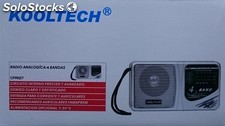 Radio portable 4 gammes Kooltech CPR-127