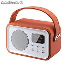 Radio Portátil Bluetooth Sunstech RPBT450OR Naranja