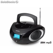 Radio Portatil Cd Audiosonic Mp3