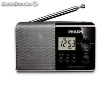 Radio Portátil Digital Philips AE1850/00 MW/FM Negro