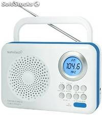Radio portátil digital Sunstech RPDS210