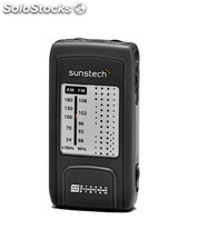 Radio Portátil sunstech RPC4BK
