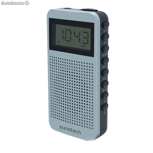 Radio Portátil sunstech RPDS12SL