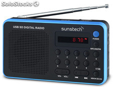Radio Portátil sunstech RPDS32BL
