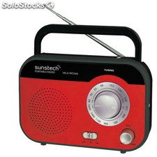 Radio Portátil sunstech RPS560RD