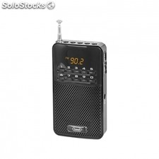 Radio portatil trevi dr 730 m negra - FM - display digital - busqueda