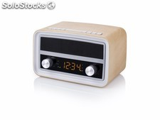 Radio Portatil Usb Audiosonic Retro Bluetooth Fm