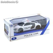 Radio Remote Control Audi R8 Police Car White 724530