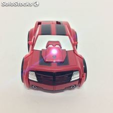 Radio Remote Control Transformers Car Red