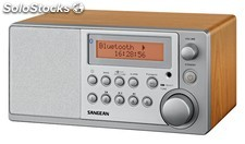 Radio Sangean ddr-31BT dab+,FM-rds, Aux-in y Bluetooth