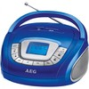 Radio sd/usb/MP3 sr 4373 azul - aeg
