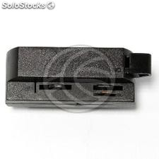 Rail track adapter for ceiling light 1-way black NH15 (NH15)