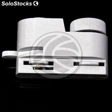 Rail track adapter for ceiling light 1-way white NH41 (NH41)