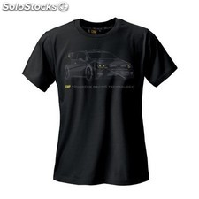 """rally"" camiseta omp negro talla xl"