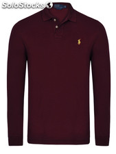 Ralph Lauren Long Sleeve Poloshirt Small Pony