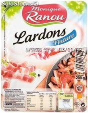 Ranou lardon nature sup 200G