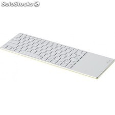 Rapoo - E6700 Bluetooth QWERTY Español Verde, Color blanco teclado