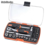 Ratchet Briefcase crv trimestre (37 Pieces)-rdm