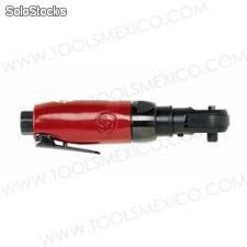 Ratchet reversible 1/4'' con cabezal giratorio.