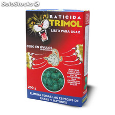 Raticida Cebo Bolas - Trimol - 0100141 - 200 G