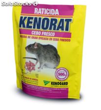 Raticida Kenorat Cebo Fresco 500Gr Uso Publico