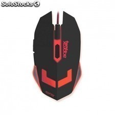 Raton gaming APPROX appfire - sensor optico 2400dpi - 6 botones - plug and