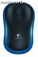 Raton logitech notebook mouse M185 blu