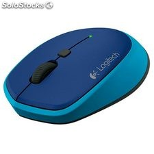 Ratón Logitech wireless M335 - blue