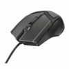 Raton trust gaming gxt 101 - 600-4800ppp - tapa superior de goma -