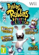 Raving rabbids party collections/wii
