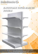 rayonnage magasins alimentaires