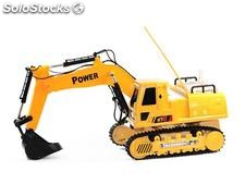 RC 12-Channel Digger (orange) - 8060E