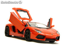 RC Car Lamborghini Aventador LP 700-4 124 (Orange)