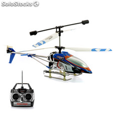 "RC Helicopter ""Air Strike"" - 3 canales, Gyro, LEDs"
