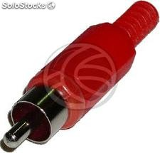 Rca-m Connector (Red) (CM15)