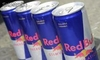 Re.d Bull Energy Drinks, rojo, azul