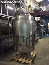 Reactor 1.500L en acero inoxidable 316