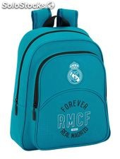 Real Madrid FC - Mochila infantil 33 cm adaptable a carro (Safta 611857006)