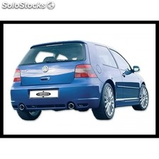 Rear bumper golf iv R32 2EXIT abs