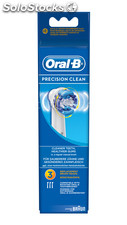 Recambio cepillo dental 3 u. Oral-b